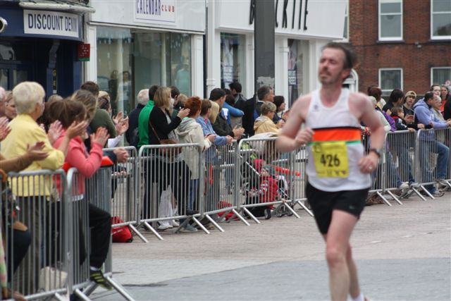 Eamon Carroll finishing