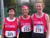 Munster Masters - first three home
